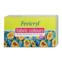 Fevicryl Fabric Colour 20ml Deep Brilliant Purple 264 (Pack of 15)