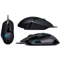 Logitech Hyperion Fury Ultra Fast FPS Gaming Mouse (Black) (G402)