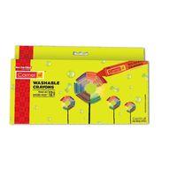 Camlin Washable Crayons (12 Shades)