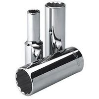 Stanley 16mm 1/2 inch Deep Socket 12 Point (1-86-424)