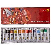 Camel Artist Acrylic Colours ( 9ml, 12 Shades)