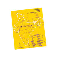 Omega India Map Stencil -Pack of 5 (1660)
