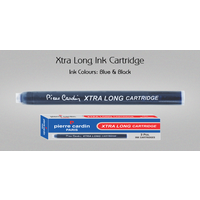 Pierre Cardin X tra Long Ink Cartridge (Blue, 3Pcs in pack-Pack of 10)