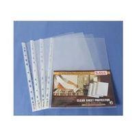 Saya 50 Pcs Sheet Protector Heavy-A4(200 mic) (SY-062A)