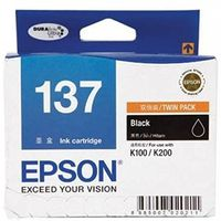 Epson 137 Ink Cartridge (Black)