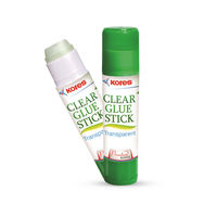 Kores Clear Glue Stick -8 gms, Transparent