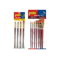 Polo Synthetic Hair Flat Set of 4