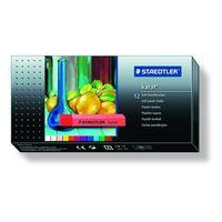 Staedtler Karat Soft Pastel Chalk, (12 Colours, Cardboard Box) 2430 C12