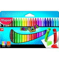 Maped Color Peps Wax Crayons(24 shades)