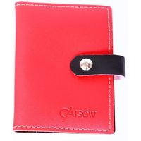 Caisow Card Holder - 7163 - Red