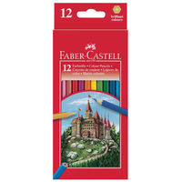 Faber Castell Colour Pencil, 12 Shades