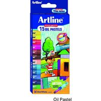 Artline Oil Pastel - 15 Shades
