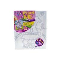 Mont Marte Kids Paint Me Set 9pce - Elephant (MMKC2005)
