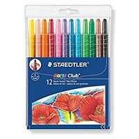Staedtler Noris Twistable Wax Crayons( 12 Colours) 221NWP12