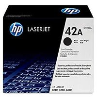HP 42A (Q5942A) Black Original LaserJet Toner Cartridge
