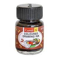 Camel Drawing Ink 20ml Burnt Sienne (1111031) (Pack of 5)