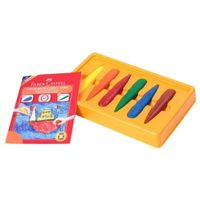 Faber Castell First Grip Crayons (Pack Of 6)