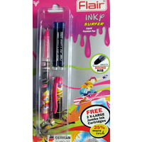 Flair Inky Surfer Liquid Fountain Pen -Blue