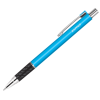 Rorito Zapper Retractbale Ball Pen, Blue, Pack of 10