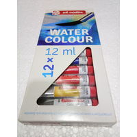 Royal Talens Art Creation Water Colour Tube 12ml 12 Shades (9022012M)