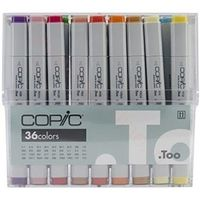 Copic Markers - 36 Colors Set (CB36)