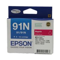 Epson 91N Magenta Ink Cartridge C13T107390