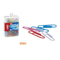 Deli Colour Paper Clips 29mm W0024 (Pack of 10)