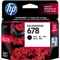 HP 678 Black Ink Cartridge(CZ107AA)