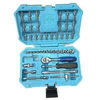 Taparia SA46 Socket Set (Blue, Pack of 46)