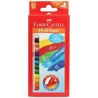 Faber Castell Oil Pastel, 15 Shades