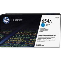 HP 654A Toner Cartridge (Cyan)