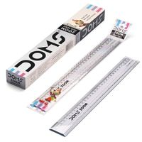 Doms Zoom Scale 30 Cm (Pack of 2)