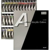 Alpha Colors Gold Artist 12 col -20ml