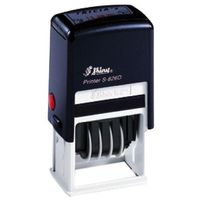 Shiny Self - Inking Date Stamp with Text PAID S-401