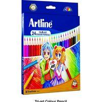 Artline Tri-Art Colour Pencil - 24 Shades