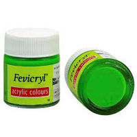 Fevicryl Acrylic Colour Leaf Green 15ML (262) (Pack of 5)