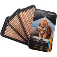Prismacolor Water Colour Pencil Assorted (Set of 36) (SAN 4066)
