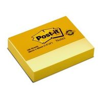 3M Post it Yellow Notes -1.5 X 2 inches, 100 Sheets (Pack of 2)
