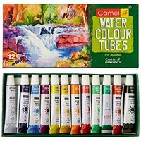 Camel Student Water Colour Tubes ( 12 Shades)