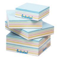 Scholar Multi Colour Paper Cubes (Size 9 X 11 cms)