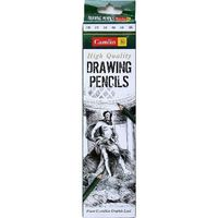 Camlin Drawing Pencil 6B (10 Pcs Pack)