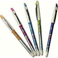 Flair Marathon Gel Pen, Blue, Pack of 10