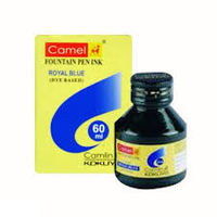 Camlin Fountain Pen Ink (60 ml, Royal Blue)
