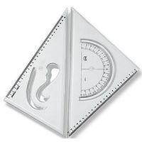 Omega Set Square Deluxe (8* 10 BFCMP) (1522 P)