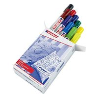Eddding Textile Pen set of 10 different colours