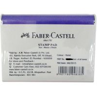 Faber Castell Stamp Pad -Small, Violet