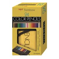 Tombow 1500 Series Colour Pencils 24 Shades Roll Up Case (CR-NQ24C)