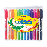 Amos Silky Twisters, 12 Colors (CST12)