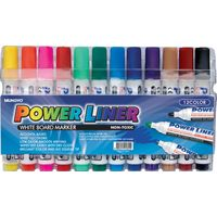 Mungyo Whiteboard Marker (12 Assorted Colours) , mixed, mixed, mixed
