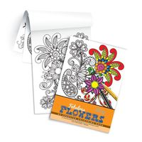 Campap Creative Colouring Book- Fabulous Flowers